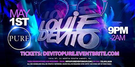 Louie DeVito at Pure tickets