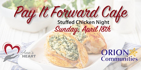 Pay It Forward Cafe: Sunday, April 18 tickets
