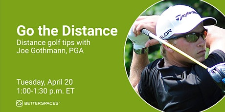 Go the Distance!  Distance Golf Tips billets