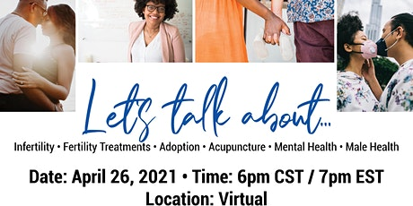 2021 Texas Faith Fertility Event  (VIRTUAL) tickets