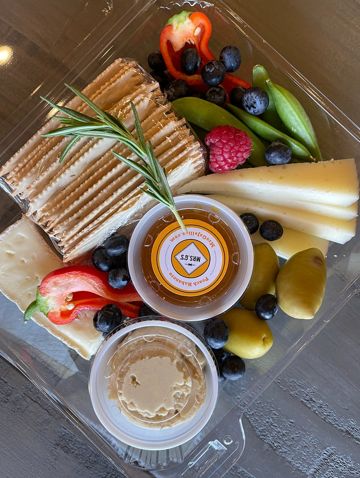 Manchego Box - Mature Cheddar Box image