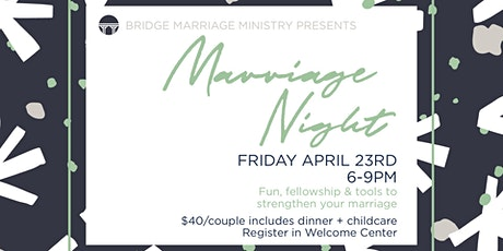 Marriage Night tickets