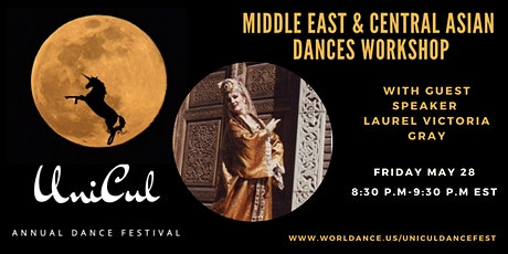 Middle East and Central Asian Dances Workshop tickets