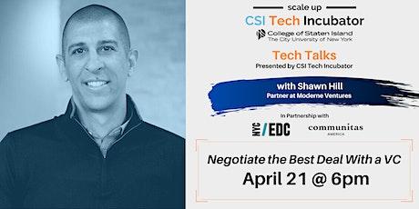 Tech Talks | Shawn Hill, Partner at Moderne Ventures tickets
