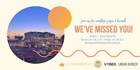 R I T U A L W A K E U P  Saturday pop-up Yoga & Brunch tickets