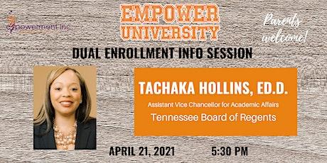 eMpower University Dual Enrollment Info Session biglietti