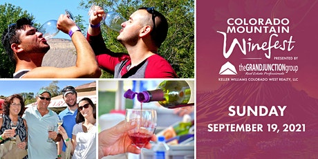 Colorado Mountain Winefest presented by The Grand Junction Group | SUNDAY tickets
