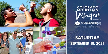Colorado Mountain Winefest presented by The Grand Junction Group | SATURDAY tickets