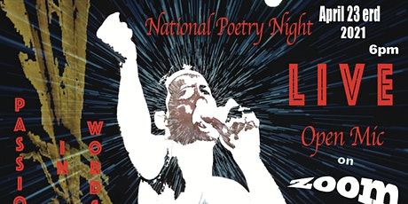 National Poetry Night, Open Mic featuring Stacy Dyson tickets