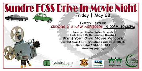 Sundre FCSS Drive In Movie Night tickets