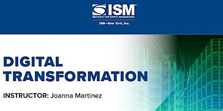 ISM-New York: Digital Transformation tickets
