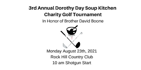 3rd Annual Dorothy Day Soup Kitchen Benefit Golf Tournament tickets