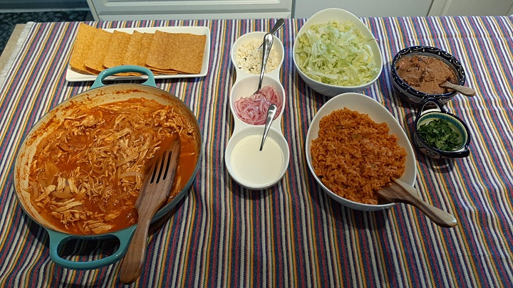 Cooking The Best Chicken Tinga. A Mexican Classic! image