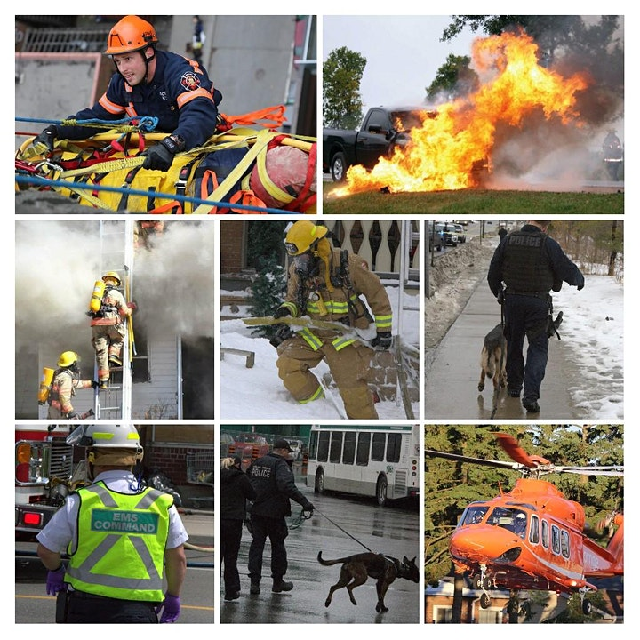 Live webinar or attend in person  Seminar for First Responders and Families image