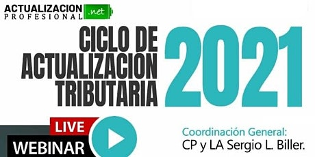 CICLO DE ACTUALIZACIÓN TRIBUTARIA  2021 boletos