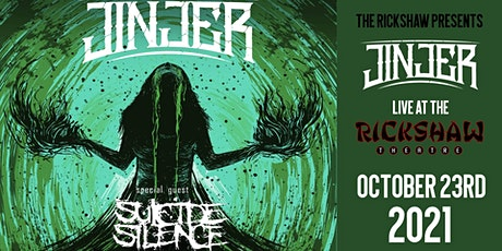 Jinjer with guests Suicide Silence tickets