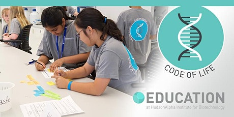 Code of Life Middle School Biotech Camp, July 12-16, 2021 (PM) tickets