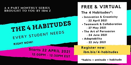 The 4 Habitudes Every Student Needs RIGHT NOW! billets