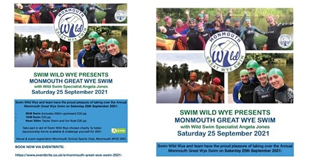 Monmouth Great Wye Swim 2021 tickets