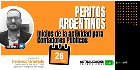 /GRABCION PERITOS ARGENTINOS: Inicios de la actividad para CP entradas
