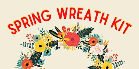 Spring Wreath Kit tickets