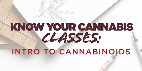 Intro to Cannabinoids tickets