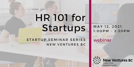 HR 101 for Startups tickets