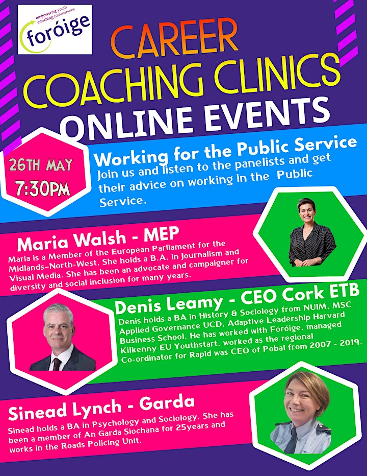 Foróige Careers Coaching Clinic - Working for the Public Service image