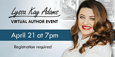Authors in Conversation: Lyssa Kay Adams tickets