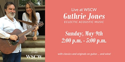 Guthrie Jones  on the Patio May 9