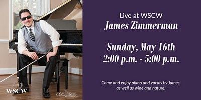 James Zimmerman on the Patio May 16