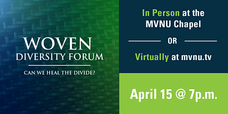 Woven Forum: Can We Heal The Divide? tickets