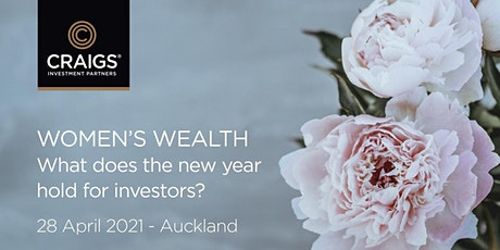 Women's Wealth: What does the new year hold for investors? tickets