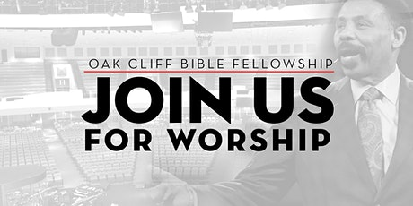 Join OCBF for IN-PERSON Worship tickets