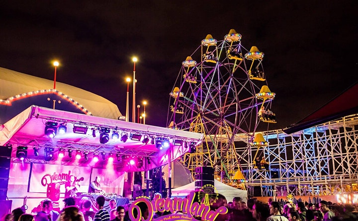 Dreamland Theme Park Music Festival 2021 image