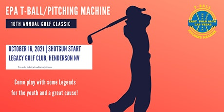 EPA T-Ball/Pitching Machine 16th Annual Golf Classic tickets