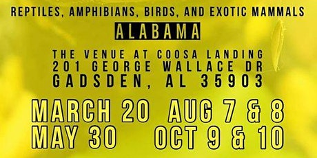 Show Me Reptile & Exotics Show Alabama tickets