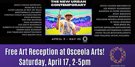 The New Urban Contemporary at Osceola Arts tickets
