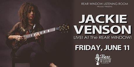 JACKIE VENSON LIVE!  At The REAR WINDOW! tickets