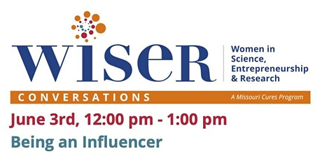 WISER Conversations: Being an Influencer tickets