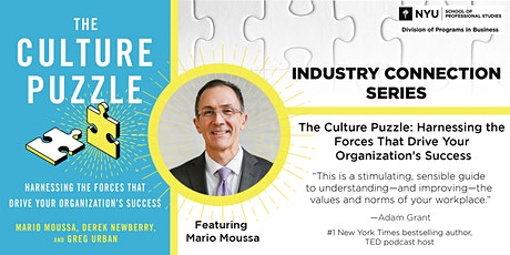 The Culture Puzzle: Harnessing the Forces That Drive Your Org's  Success tickets
