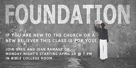 Faith Alive Family Church - Foundations tickets