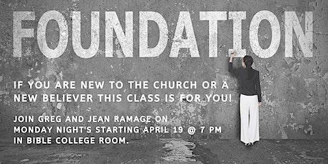 Faith Alive Family Church - Foundations tickets