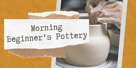 Morning Beginner's Pottery with Jackie Goolsbey tickets
