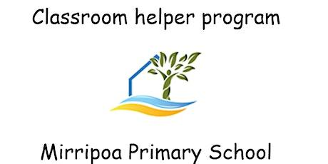 Classroom Helper Information Session tickets