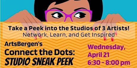 Connect the Dots: Studio Sneak Peek tickets