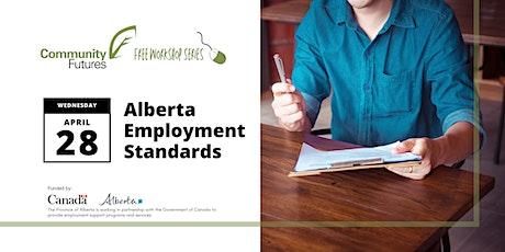 Employer Workshop #8 - Alberta Employment Standards tickets