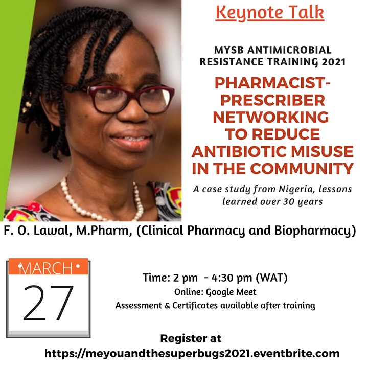 Seminar Series|Antimicrobial Resistance in Nigeria Professional Development image