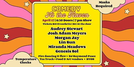 Comedy at The Haven | Outdoor Comedy, Music, Fire Dancing, & Art Show tickets