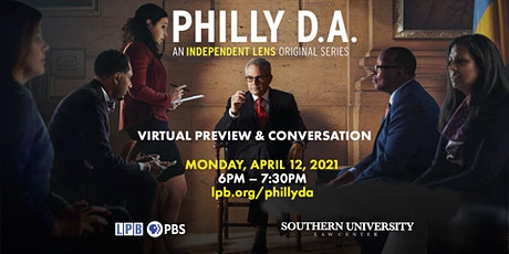 Philly D.A. Preview Screening & Conversation tickets